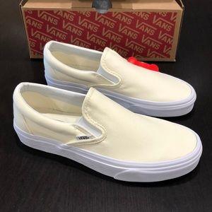 Vans Classic Slip-On White